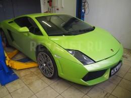 Ремонт выхлопной системы Lamborghini Gallardo LP 560-4