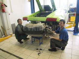 exhaust repair lamborghini gallardo lp-560-4