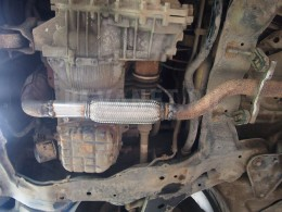 Ремонт выхлопной системы Hyundai Trajet