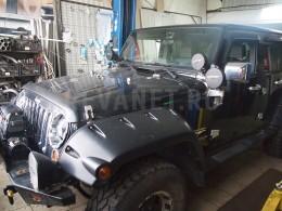 Ремон выхлопной ситемы Jeep Wrangler