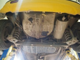 Ремонт выхлопной системы Hyundai Getz