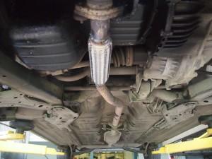 Ремонт выхлопной системы Hyundai Accent